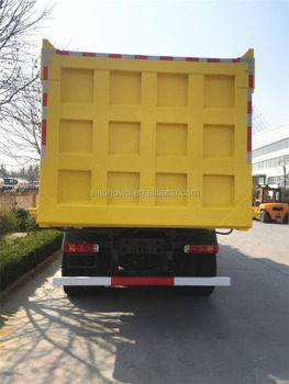 336HP/371HP 6x4 Sinotruk Howo Dump Truck For Sale