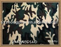 100%polyester camouflage printed polar fleece fabric