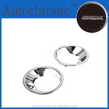China wholesale factory price car parts chrome front fog light cover - for BMW X5 E53 01-03