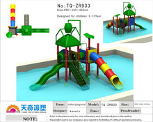 slides for used children/used outdoor toys/small houses in plastic from garden for children