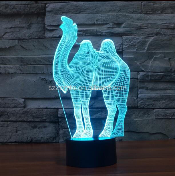 3D led lamp acrylic night lamp