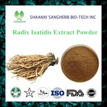 Professional manufacturer provide Manchurian Wildginger Herb Radix Isatidis Extract Indigowoad Root Extract 20:1