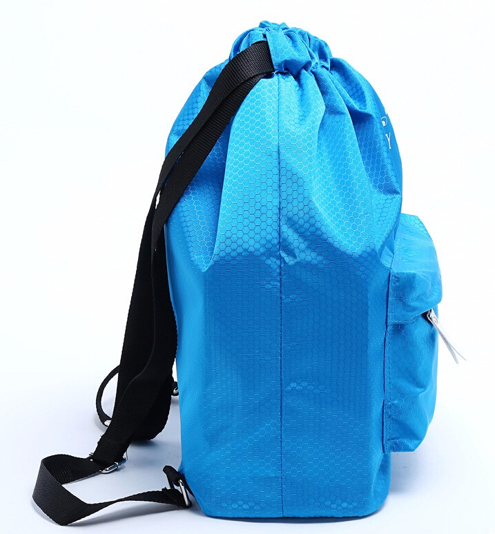Summer drawstring backpack swim bag