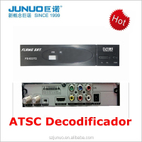 Full hd mpeg4 h.264 tuner atsc modulator tdt converter box digital receiver for mexico