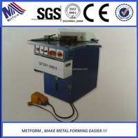 Metal corner notching machine,Hydraulic metal plate sheets Corner Notching Machine, aluminum angle Cutter machine