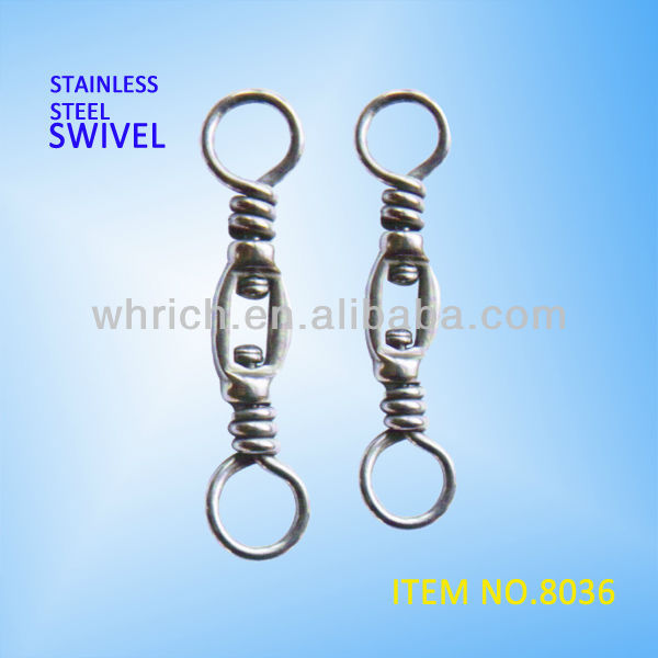 stainless steel AISI304 box fishing swivel Item No.8036