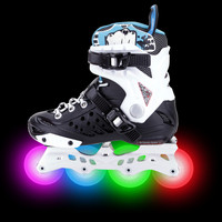 Adjustable new coming Shoes For Man Luminous inline skating Light Up Shoes roller skating for kids