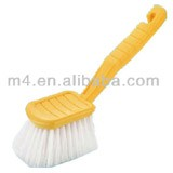 Car mat cleaning scrubber brush