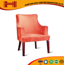professional custom orange used hotel lobby furniture dining table and chair