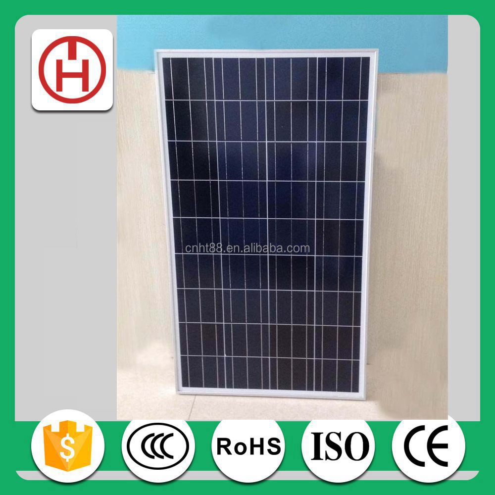 Normal Specification and Commercial Application poly solar panel 130W in China