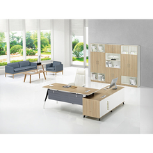2017 latest office boss table design office furniture wooden office table design