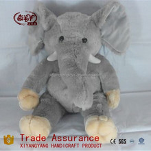 unstuffed animal skins/plush gray elephant skins