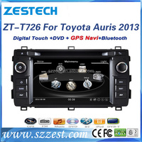 2 din 7 inch touch screen bluetooth car radio mp3 player dvd gps navigation for Toyota auris 2013 multimedia system