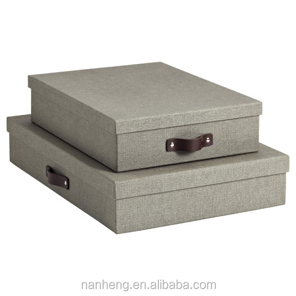 NAHAM Snap Folding Down Fancy Storage Box