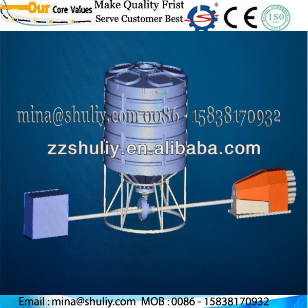 cages automatic fish farm feeder / cages all automatic pipeline fish pond batch feeder //0086 - 15838170932