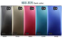 PUDINI Dark color shell mobile phone cover with PC hard for Gionee GN705W cellpnone cases