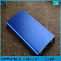 Dark blue square power bank 20000MAH super fast mobile phone charger
