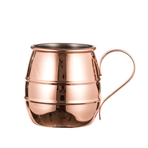 Advanced Custom Stainless Steel Copper Plated Cup Moscow Mule Mug
