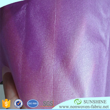 100% Polypropylene waterproof pe+pp film laminated non woven fabric,pp spunbond nonwoven laminated fabric made in china