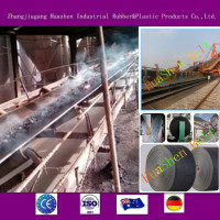 China supplier EP heat transportation system din abrasive manufacture plant rubber conveyor belt for gavel coal iron ore
