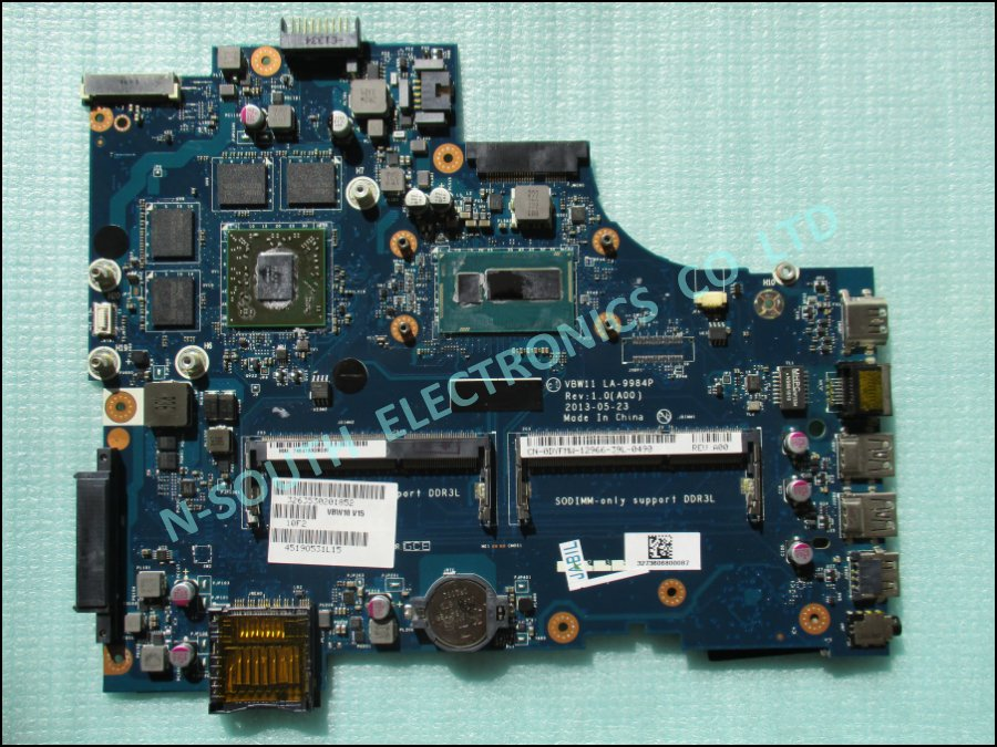 Hotsale motherboard for dell for inspiron 17 5737 intel i7 la-9984p dyfmw