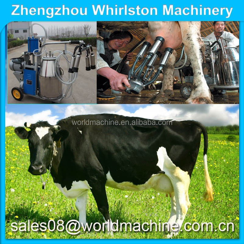 Safety low noise human milking machine/cow milking machine