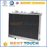 Aftermarket Alumium car oversized radiator for ferrari