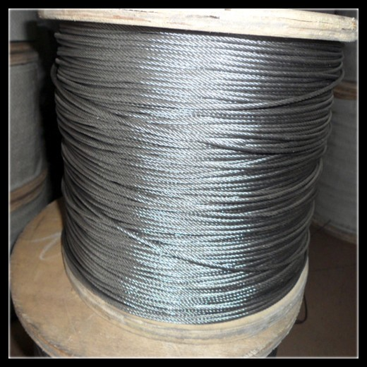 22mm 6x37 steel wire rope for lifting and rigging