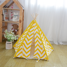 2016 New Product Teepee Dog Bed Sofa Wood Folding Dog House Mat