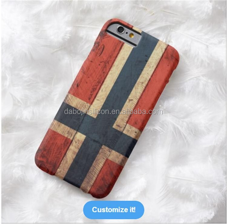 Cheap But Luxury silicone Norway flag case for <strong>mobile</strong> phone