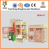 QTJ6-15 hydraulic press italy automatic concrete block making machine with large production