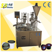rotary type coffee & tea k cup making machine