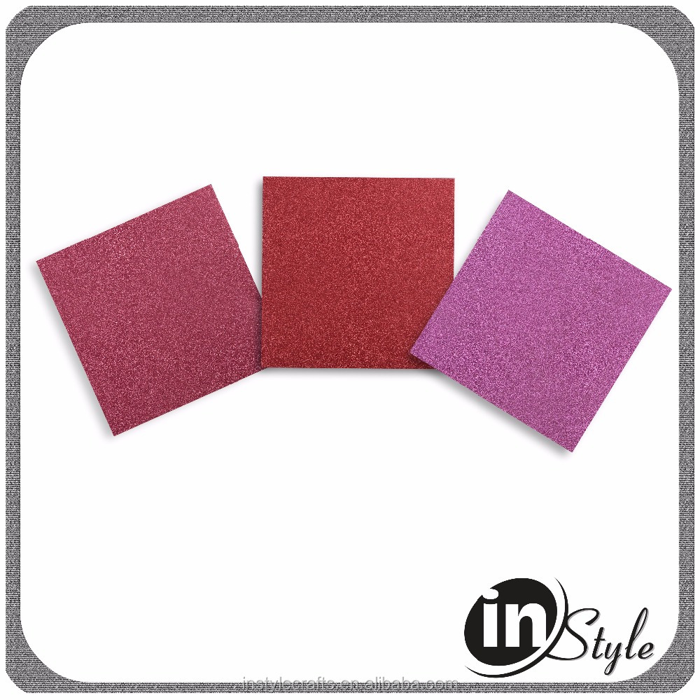 New Fancy full color glitter paper, glitter paper with color chart, glitter paper wholesale