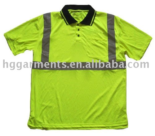 Hi Vis short sleeve Safety Polo Shirt