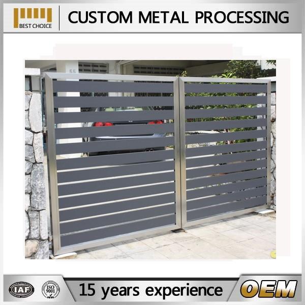 Hot Dip Steel Gate Sliding Iron Main Gate Design Buy
