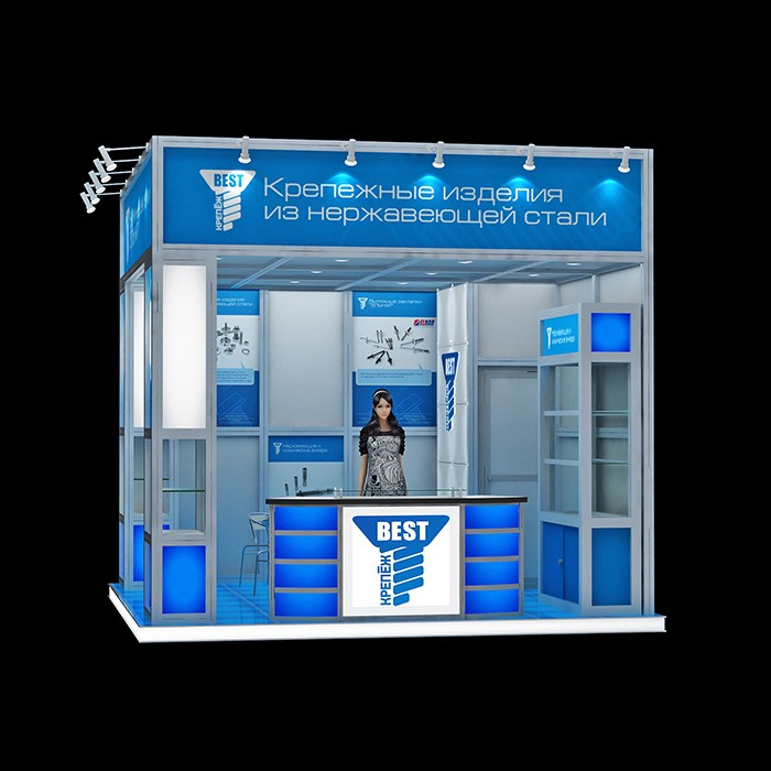 Aluminum profile Modern shopping mall watch shop interior decoration design kiosk booth , booth tradeshow #002