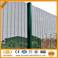 Hot dipped galvanized anti climb security fence