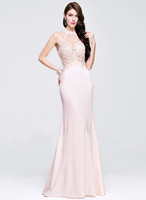 Prom Dress With Beading Appliques Lace Sequins dress prom long