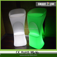 Hot sell led cubes! Fashionable home/party/wedding decoration 30cm led cube chair