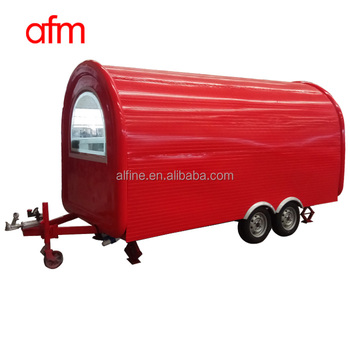 hot sale best quality popcorn food truck for sale