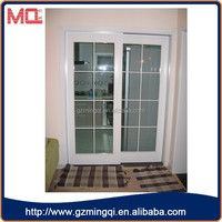 Factory price plastic decorative sliding doors interior doors for small spaces