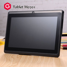 Hot sale! touch tablet with sim card slot quad core 7 inch 4g android tablet pc M0701cheap mini laptop computer