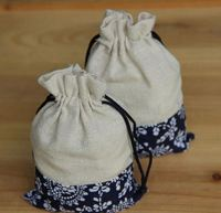 New hotsale different types great capability drawstring sack cotton bag