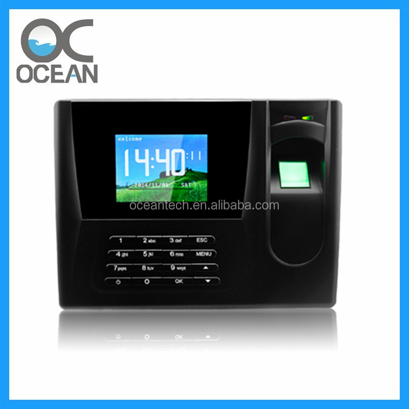 Staff Management Fingerprint Time Attendance / Fingerprint Attendance Module Realand AC 020