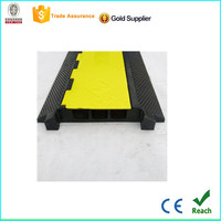 flexible cable ramp/rubber cable protector for floor