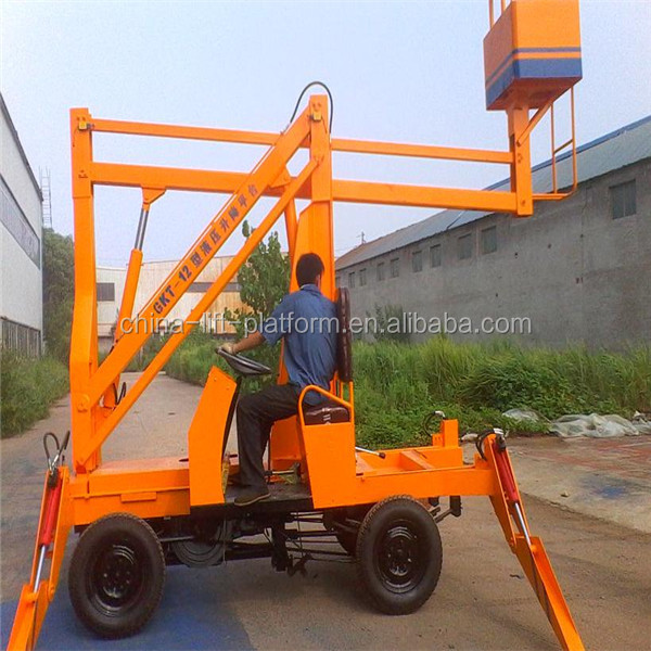 Small telescopic boom lift /compact lifting equipment for sale