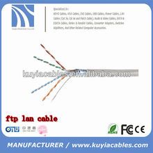 Best price FTP cat6 lan cable 1000ft 305m
