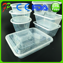 Plastic food grade packaging box