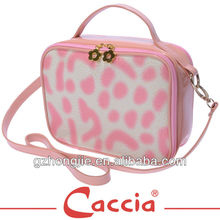 New arrival ladies dual-purpose pink pu bags