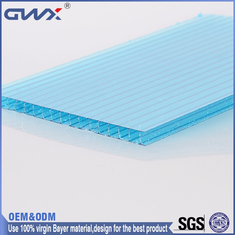 Good Light Transmission Flexible Balcony Cover Sheet Roof Materials